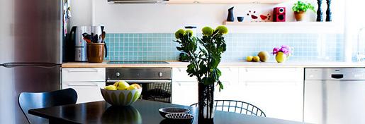 Interiørfotos fra lejlighed på vesterbro - køkken