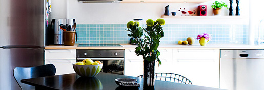 Apartment Interior Photos 1 - Our Cool <em>Kitchen</em>