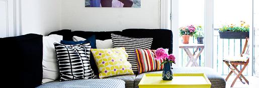 Interiørfotos fra lejligheden 3 - vores stue