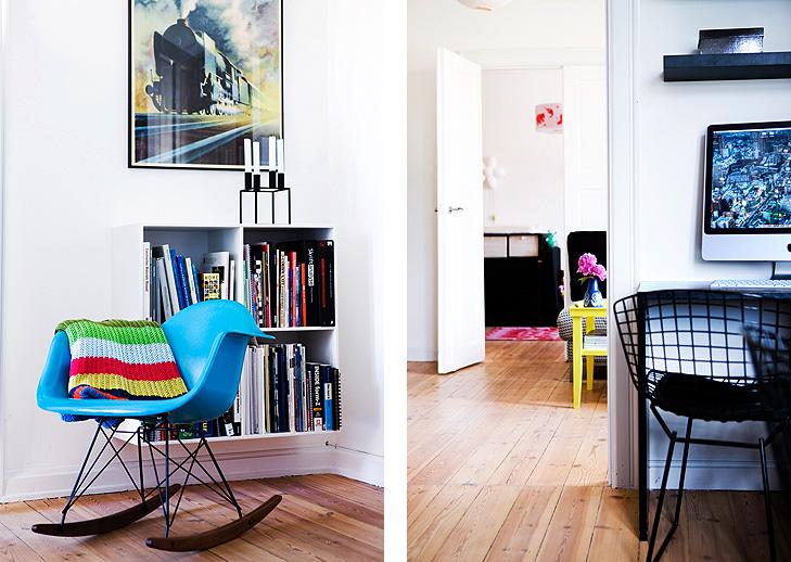 Interiørfotos fra lejligheden 3 - vores stue - WhatWeDo København