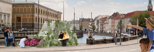Mobile <em>åndehuller</em> på Gammel Strand i København