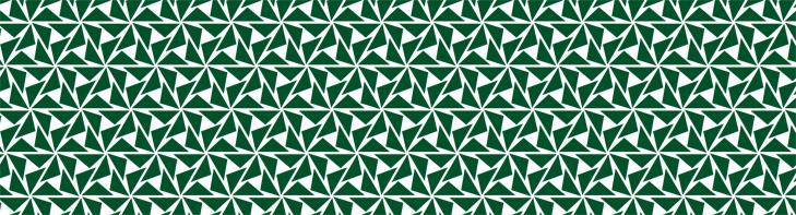 Mønster brugt til metalgitteret i byrumsinstallationen.