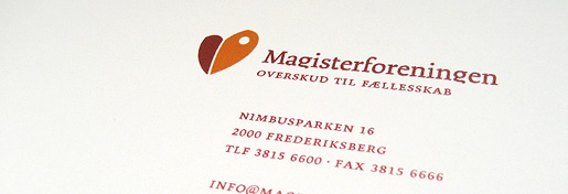 Visual Identity For The Danish Association of Masters and PhD's