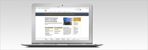 C4 Erhvervs Netværk Website