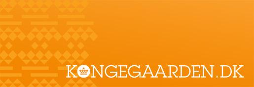 Identitetsdesign og website for Kongegaarden