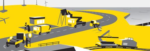 Information graphics for danish contractor Arkil