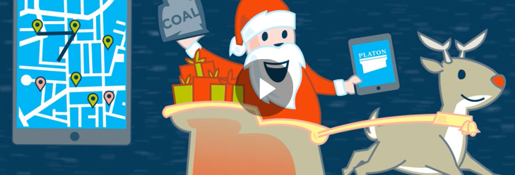 Christmas Animation for Danish IT-Company Platon