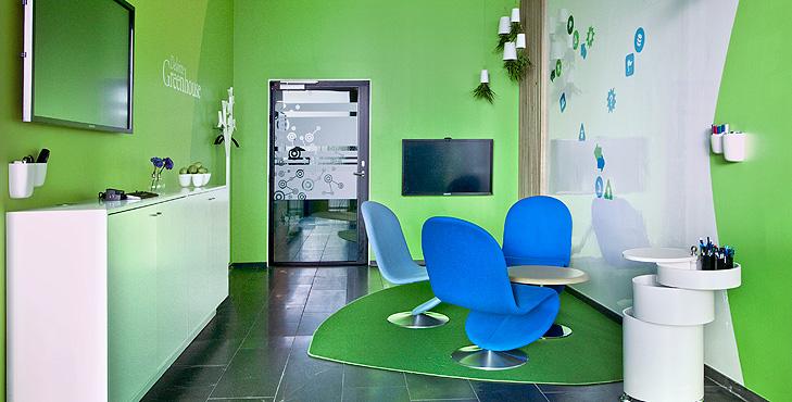 Deloitte Greenhouse Innovation Room