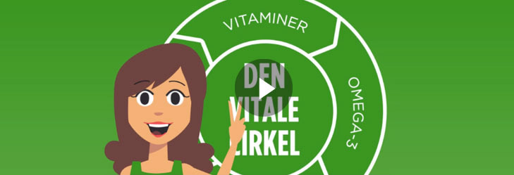 Animated explainer video about vitamin supplements
