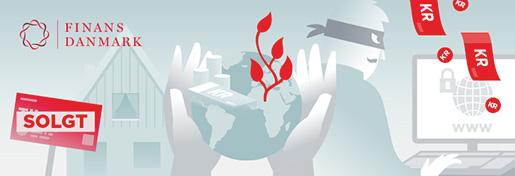 Animated gif for Finance Denmark designed for social media