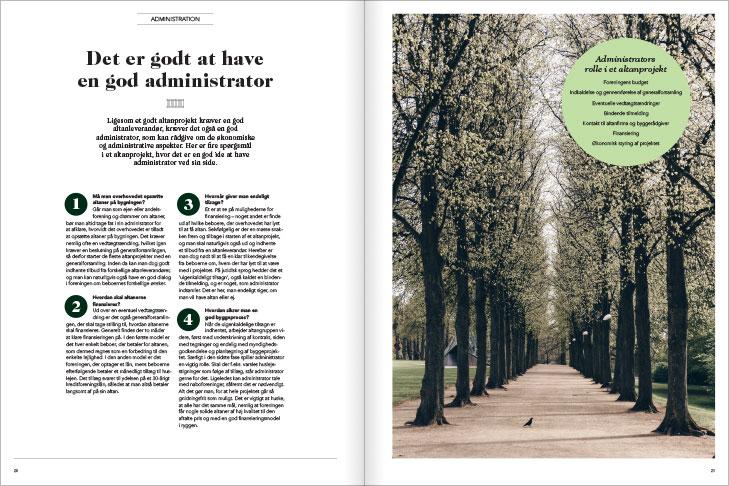 Magasin design og layout: Det er godt at have en god administrator, MinAltan Magasin opslag