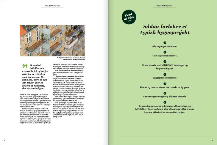 Magasin design og layout: Sådan forløber et typisk byggeprojekt, MinAltan Magasin opslag