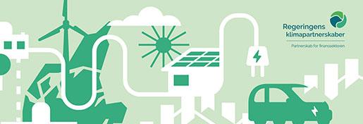 Design og layout af køreplan for finanssektorens klimapartnerskab